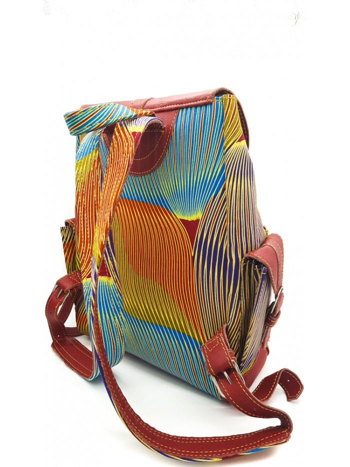 Color Brush Stroke Backpack
