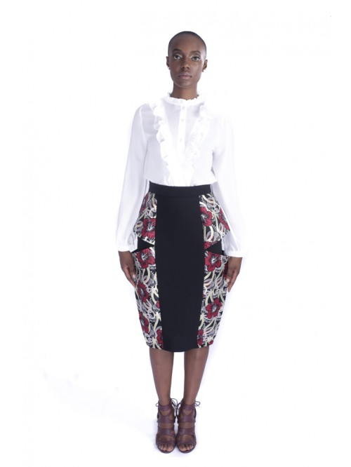 Awo Pencil Skirt