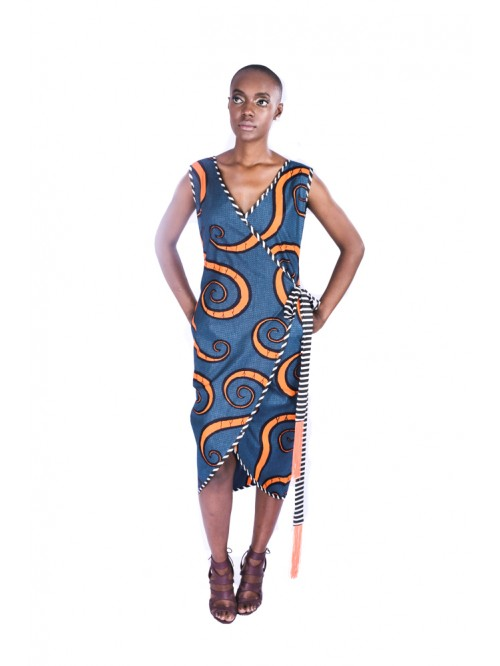 Awovi Wrap Dress