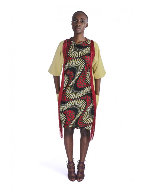 Vukazi Tussle Dress